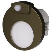 Ledix - oprawa LED Muna PT 14V stare złoto czujnik Zamel
