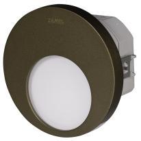 Ledix - oprawa LED Muna PT 230V stare złoto sterownik RGB Zamel