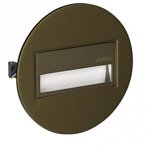 Ledix - oprawa LED Sona okrągła PT 14V stare złoto Zamel