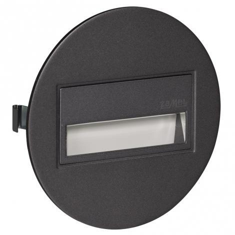 Ledix - oprawa LED Sona okrągła PT 14V grafit Zamel
