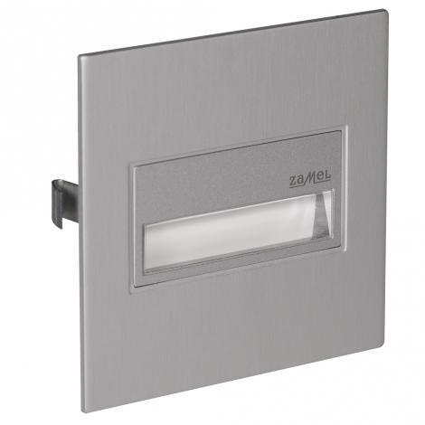 Ledix - oprawa LED Sona kwadratowa PT 14V aluminium Zamel