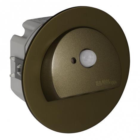 Ledix - oprawa LED Rubi PT 14V DC stare złoto czujnik Zamel