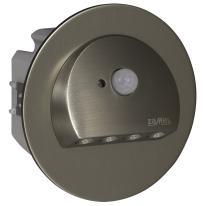 Ledix - oprawa LED Rubi PT 230V stal nierdzewna czujnik Zamel