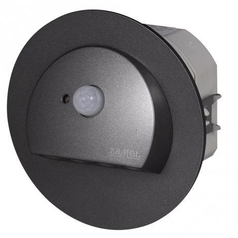 Ledix - oprawa LED Rubi PT 230V grafit czujnik Zamel