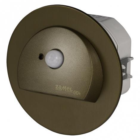 Ledix - oprawa LED Rubi PT 230V stare złoto czujnik Zamel