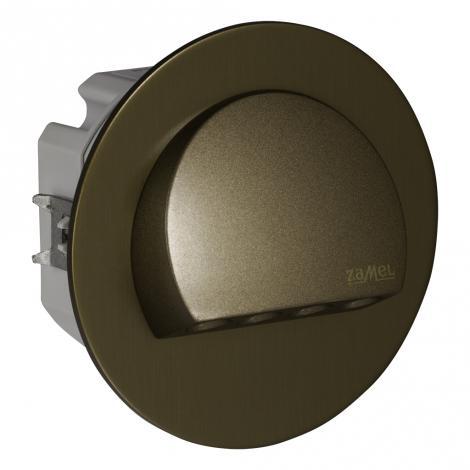 Ledix - oprawa LED Rubi PT 230V stare złoto sterownik RGB Zamel