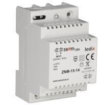 Zasilacz LED modułowy 15W 14V DC - ZNM-15-14 Zamel