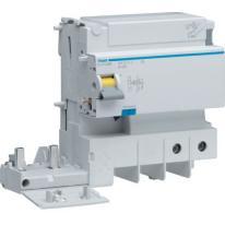 Blok różnicowoprądowy krótkozwłoczny do MCB serii HM 1P+N 125A 30mA A-HI BDH280E Hager