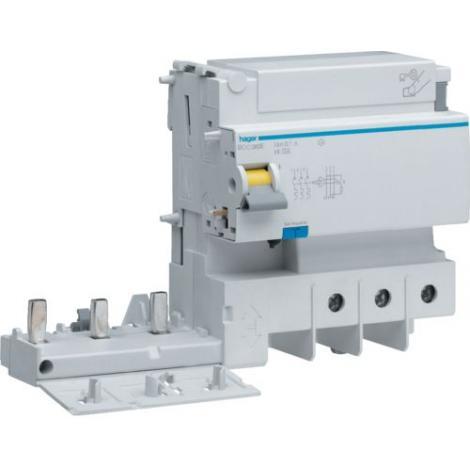 Blok różnicowoprądowy do MCB serii HM 2P+N 125A 30mA AC BDC380E Hager