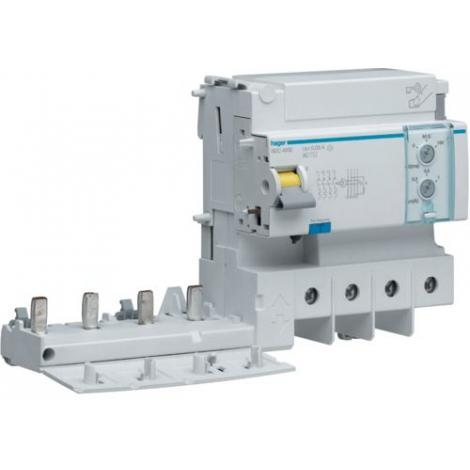 Blok różnicowoprądowy do MCB serii HM 3P+N 125A 30mA AC BDC480E Hager