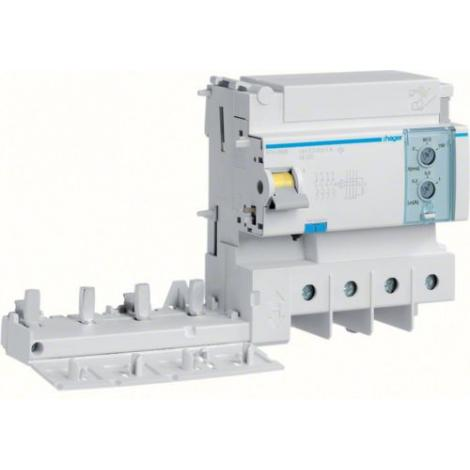 Blok różnicowoprądowy krótkozwłoczny do MCB HM 3P+N 125A 0,3-1A A-HI BTH480E Hager