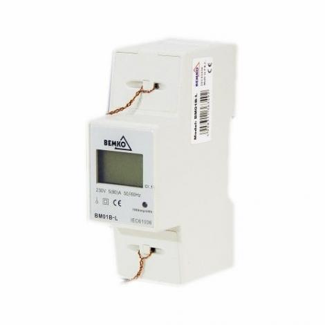 Licznik energii elektrycznej 1-fazowy Bemko BM01B-L Bemko