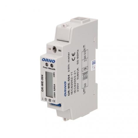 Licznik energii elektrycznej 1-fazowy Orno OR-WE-504 Orno