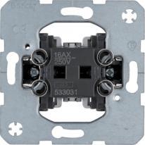 Berker One.Platform - łącznik 1-klawiszowy jednobiegunowy