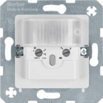 Berker Kwadrat biały - czujnik ruchu 2-przewodowy Berker