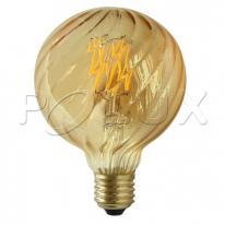 Żarówka LED dekoracyjna Vintage Amber E27 4W 308894 Polux Polux