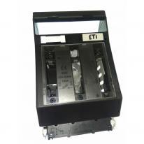 Rozłącznik bezpiecznikowy HVL00 3P M8-M8 ETI