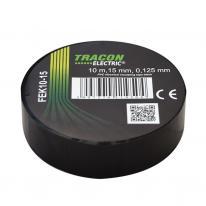 Taśma izolacyjna 10mx15mm czarna Tracon Electric