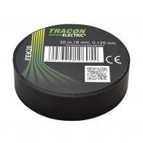 Taśma izolacyjna 20mx18mm czarny Tracon Electric