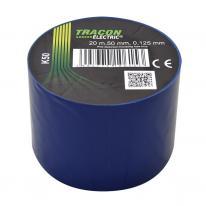 Taśma izolacyjna 20mx50mm niebieski Tracon Electric