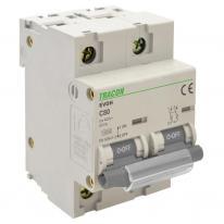 Wyłącznik nadprądowy 2P C63 10kA Tracon Tracon Electric