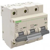 Wyłącznik nadprądowy 3P C63 10kA Tracon Tracon Electric