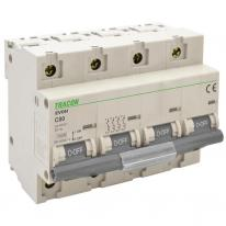 Wyłącznik nadprądowy 4P C125 10kA Tracon Tracon Electric