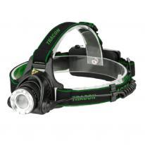 Latarka czołowa akumulatorowa z zoom LED HL500B Tracon Electric