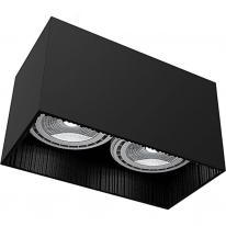 Oprawa downlight natynkowa GROOVE BLACK 9316 Nowodvorski