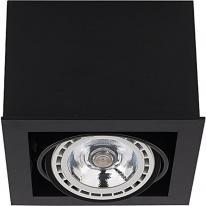 Oprawa downlight natynkowa BOX BLACK I ES111 9495 Nowodvorski