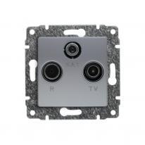 vena-aluminium-gniazdo-satelitarne-przelotowe