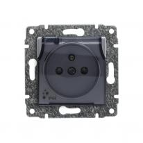 Kos Vena aluminium - gniazdo bryzgoszczelne Kos Elektro System