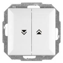 Abex Perła biały - łącznik żaluzyjny odbijający WP-10P Abex
