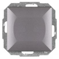 Abex Perła antracyt - łącznik dzwonkowy z podświetleniem WP-6/7PS Abex