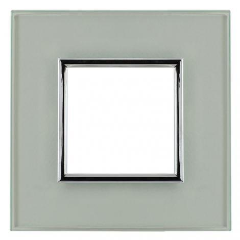 Kos Dante creative glass - ramka szkło 1 Kos Elektro System