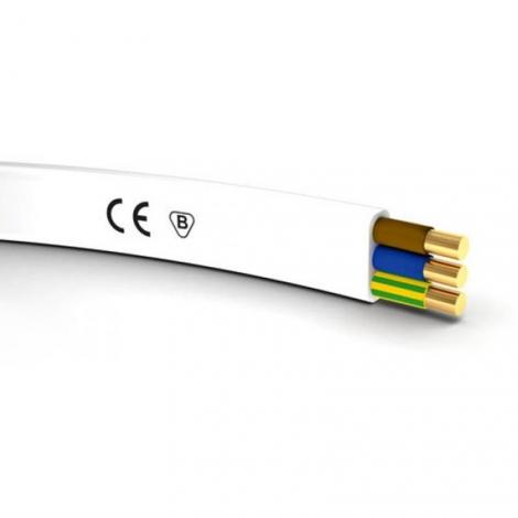 Przewód instalacyjny YDYp 3x1,5 450-750V płaski Elektrokabel