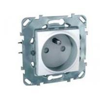 Unica plus (biały) - gniazdo pojedyncze z przesłonami (+0) Schneider Electric