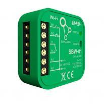 Supla - moduł sterownia bramami dopuszkowy Wi-Fi SBW-01 Zamel