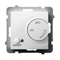 Ospel Aria biały - regulator temperatury RTP-1U/m/00 Ospel