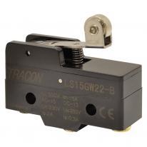 Łącznik krańcowy z dźwignią sprężynową i rolką LS15GW22-B Tracon Electric