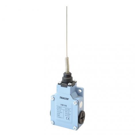 Łącznik krańcowy dźwignią sprężynową VM106 Tracon Electric