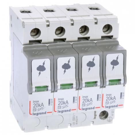 Ogranicznik przepięć C 4P 20kA 1,2kV ON 300 Legrand - 412223 Legrand