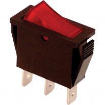 Wyłącznik kołyskowy włącz-wyłącz czerwony TES-21 Tracon Electric