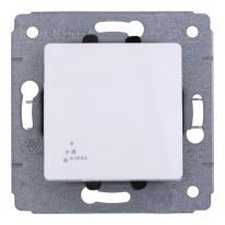 Legrand Cariva biały - łącznik jednobiegunowy IP44 Legrand