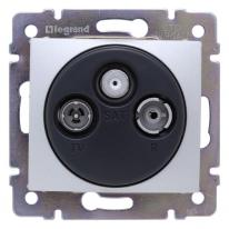 Legrand Valena aluminium - gniazdo TV-RD-SAT (końcowe) Legrand