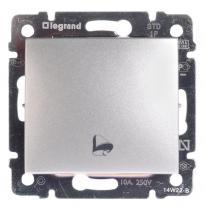 Legrand Valena aluminium - przycisk dzwonkowy Legrand