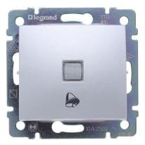 Legrand Valena aluminium - przycisk dzwonkowy 230V (p) Legrand