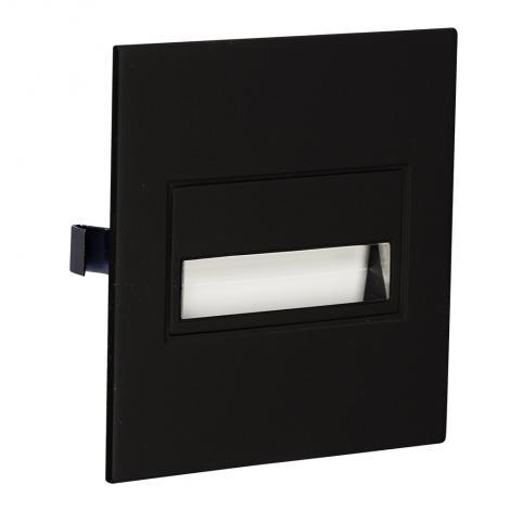 Ledix - oprawa LED Sona kwadratowa PT 14V czarna Zamel