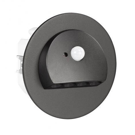 Ledix - oprawa LED Rubi PT 14V DC czarna czujnik Zamel