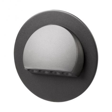 Ledix - oprawa LED Rubi PT 230V czarna Zamel